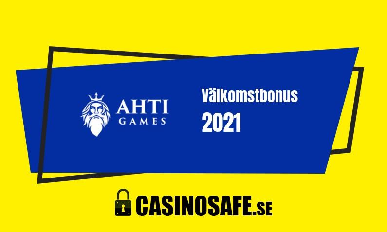 Ahti Games Casino bonusar och recension