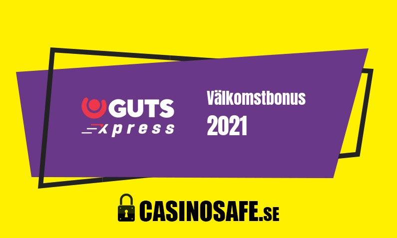 Guts Xpress Casino bonusar och recension