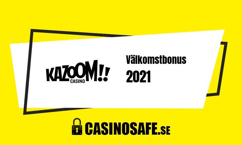 Kazoom bonusar och recension