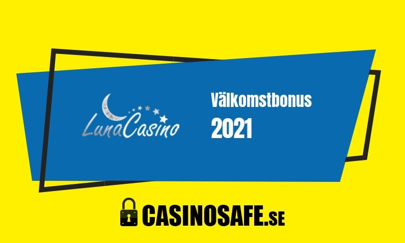 Luna Casino bonusar och recension