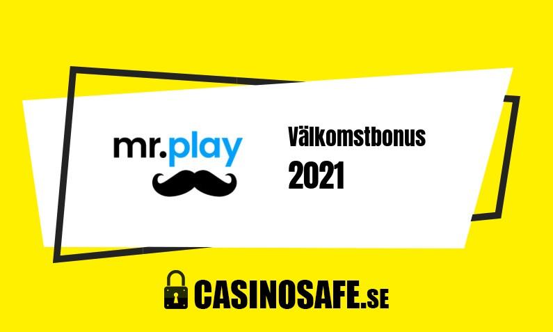 Mr Play Casino bonusar och recension