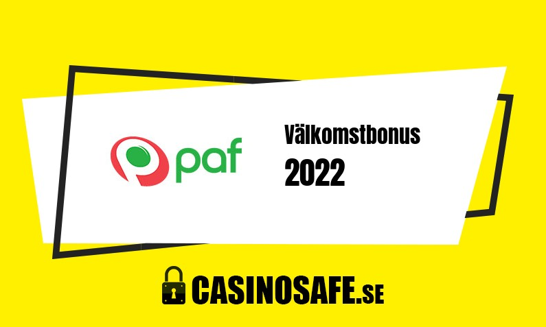 Paf Casino bonusar och recension