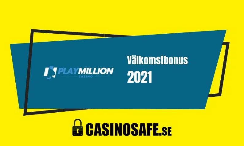 Play Million Casino bonusar och recension