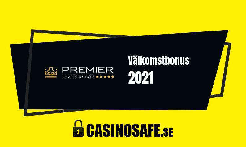 Premier Live Casino bonusar och recension